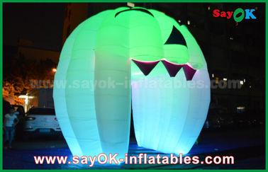 Китай Милые раздувные украшения праздника освещая дверь призрака/большую раздувную тыкву поставщик