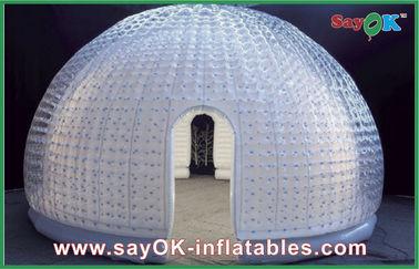 Китай Купола шатра воздуха винила 8 персон шатер пузыря раздувного раздувной для зрелищности поставщик