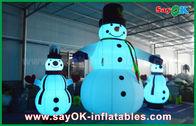 Китай Украшений праздника ткани Оксфорда снеговик рождества раздувных гигантский для партии завод