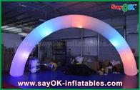 Китай ворота пути свода освещения Инфлатбле ткани нейлона ДИА 63км для украшения завод