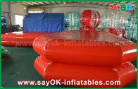 Китай Пруд плавания красного воздуха водного бассейна ПВК раздувного плотный для игры детей завод