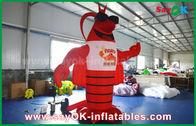 Китай Большой красный раздувной омар для рекламировать украшение/гигантскую искусственную модель омара завод
