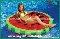 Китай Желтый/красный цвет/бассейн поплавка бассейна куска плода сырцовый раздувной забавляется для плавать завод