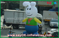 Китай персонажи из мультфильма прекрасного кролика ткани 210Д Оксфорда раздувные для продвижения завод