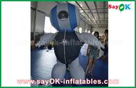Китай Продукты робота ткани таможни 2мХ Оксфорда изготовленные на заказ раздувные голубые для рекламировать завод