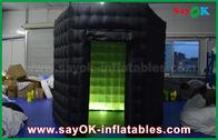 Китай 1 черных двери 2.5м изготовленных на заказ/белых раздувных будочек фото с тканью Оксфорда света СИД завод