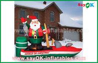 Китай Персонажи из мультфильма Кустомзид различные раздувные Санта Клауса для рождества завод