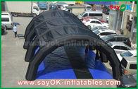 Китай Подгонянный шатер тоннеля тарпулин ПВК 0,55 мм раздувной для рекламировать/продвижение завод