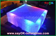 Китай Гигантский шатер воздуха белизны 210 д Оксфорда раздувной с освещением СИД для партии завод