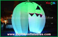 Китай Милые раздувные украшения праздника освещая дверь призрака/большую раздувную тыкву завод