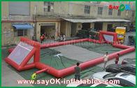 Китай Футбольное поле брезента ПВК гиганта 0.5мм раздувное, портативное раздувное футбольное поле завод