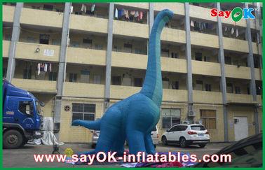 дракон персонажей из мультфильма крупного плана PVC голубого большого раздувного динозавра 10m водоустойчивый