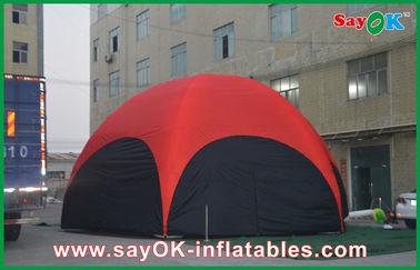 PVC шатра красного шестиугольника 3 m большой напольный раздувной для призвания