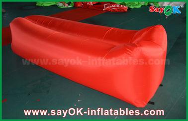 Варочный мешок спать ткани нейлона облегченный хлопает вверх пляж кресла воздуха софы раздувной