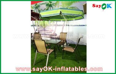 Пристаньте материал к берегу нейлона зонтика 190Т патио Солнца открытого сада консольный