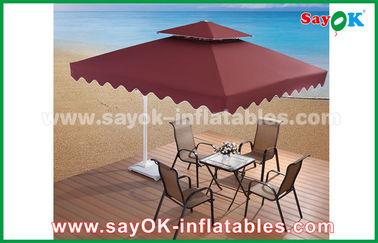 зонтик патио сада пляжа зонтика 2,5 * 2.5М рекламируя