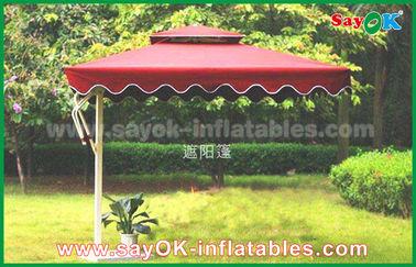Изготовленный на заказ банан печати 300км вися зонтик пляжа Солнца для открытого сада