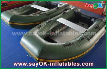 Позеленейте 0,9/1,2 брезента мм шлюпок ПВК Инфлатабе с алюминиевыми полом/затворами