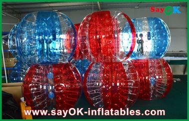 Пузыря прозрачного футбола ПВК/ТПУ шарик раздувного человеческий для взрослого/ребенк