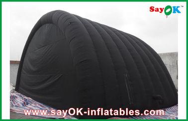 Черный водоустойчивый раздувной шатер воздуха с тканью Оксфорда и покрытие PVC для Ourdoor